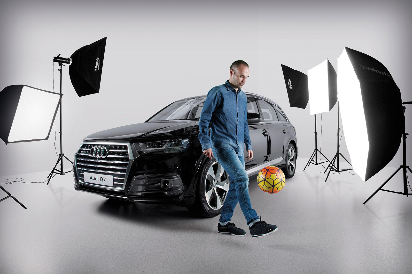 Iniesta para Audi